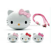 Quality Rechargeable Smart Hello Kitty Mini External Battery Power Bank 4000mAh for sale
