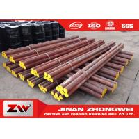 Quality High hardness B2 Material Grinding Rods Forged Grinding Steel Bar for sale