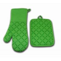 Heat Resistant Custom Made Colored Kitchen Oven Mitts 7x13 Inch