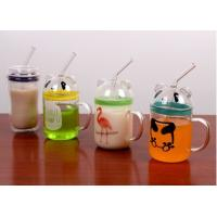 China exquisite hand blown glass cup Baby bottle scale cup on sale