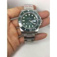 China The strategy of Brand watch purchase ROLEX Submariner Green Dial Steel Men's Watch on sale