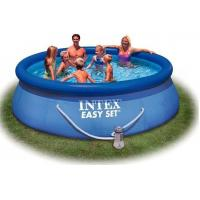 Quality Outdoor Round Inflatable Swimming Pools with filter for home backyard water games for sale