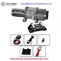 Quality 3500LBS 12V 24V DC Self Recovery Electric Winch/mini electric winches/electric winch for sale