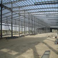 New Design Prefabricated Large Span Light Steel Structure