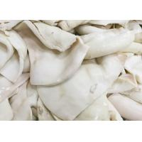 China frozen boiled giant squid fillet BQF  Darumar origin China thickness 6-12mm frozen squid rings on sale