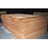 Quality Yellow Rotary Cut Okoume Veneer For Chipboard , 0.2 mm - 0.6 mm Thickness for sale