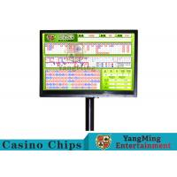 Quality Electric Baccarat Gambling Systems With Independent Remote Control Keyboard for sale