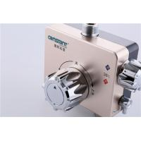Quality Gold Bath Thermostatic Mixing Valve Copper Configuration Anti - Scalding for sale