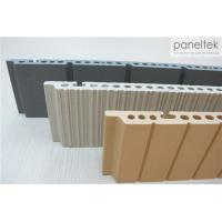 Textured Terracotta Panel System 300 - 1500mm Length With Earthquake Resistance