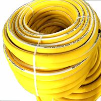 Quality Professional Compressor Air And Water Hose Rubber Yellow Color Heavy Duty for sale