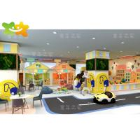 China Building Blocks Soft Play Gym Equipment Role Play High Integrity  With Sand Pool on sale