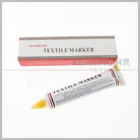Quality Kearing Toothpaste Shaped Textile Marker Pen for Knitting Marking for sale