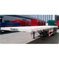 Quality Three Axles Semi Trailer Truck For Container Loading Q345B Material for sale
