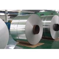 Quality Polished Surface Aluminium Sheet Roll , Aluminum Gutter Coil Silver Color for sale