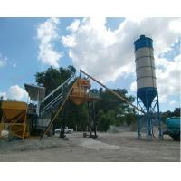 Quality Model HZS35 Stationary Fixed Concrete Batching Plant Electric Power With 35m3/H Capacity for sale