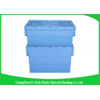 Customized Plastic Attached Lid Containers Storage Packaging Long Service Life