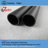 Quality High Strength 3k Carbon Fiber Pipe Corrosion Protection For Machine Parts for sale