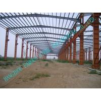 Quality Customized Durable Pre-engineered Building Steel Q235 / Q345 Grade for sale