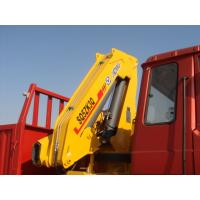Buy cheap Effective 5T Knuckle Boom Truck Mounted Crane Lifting For Landscape Jobs from wholesalers