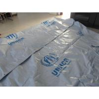 Buy cheap Reinforced Plastic Tarpaulin Plastic Sheets/Rolls on UN/MSF/IFRC specifications from Wholesalers