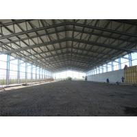 Buy cheap Fireproof H Section Steel Prefabricated Steel Sheet Frame Shed from wholesalers