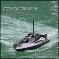 Quality Classic Model HYZ-105 Long Last Use Stable High Speed RC Bait Boat For Fishing for sale