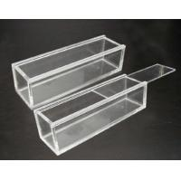 Quality acrylic display case with lock and key customized acrylic display case for sale