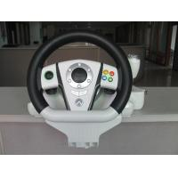 China Adjustable USB PC Xbox Steering Wheel And Pedals With Automatic Centering System on sale