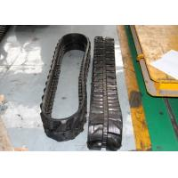 Buy cheap Mini Excavator Rubber Tracks 3360mm Overall Length For Skid Steer Loaders from wholesalers