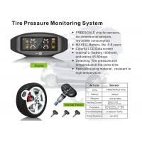 Quality Vehicle Tpms Tyre Pressure Monitoring System With Internal Sensors  LCD Screen Data Display for sale
