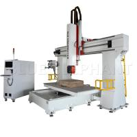 Quality 3d Pattern 5 Axis Cnc Router Machine  For Wood Cutting 11KW Imported Taiwan DELTA Inverter for sale