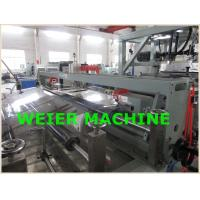 Quality PET Plastic Sheet Extrusion Line , Parallel Twin Screw Extruder Machine for sale