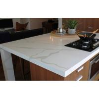Calacatta gold solid surface and countertop non porous for Granite countertop width