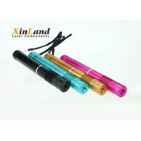 635 - 650nm Red Aluminum Laser Pointer Pen With Long Lifetime Chip Powerful