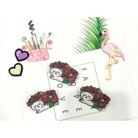 Quality Custom Cute Little Cat And Rose Metal Black Plating Soft Enamel Lapel Pin for sale
