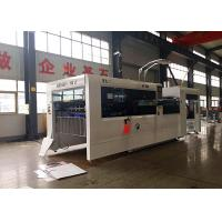 China Speed 5000 Sheets Automatic Paperboard Flat Bed Type Die Cutting Creasing Machine on sale