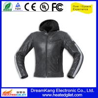 China 12V Motorcycle heated motorcycle jacket for winter on sale