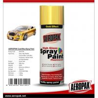 China AEROPAK Metallic spray paint, all purpose auto acrylic resin paint on sale