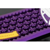 Quality Fashion Soft Pvc Bar Spill Mats , Personalised Bar Runners With Logo for sale