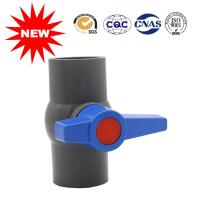 Buy cheap Gray PVC Valve Water Supply Fittings PVC Ball Valve For Water System from wholesalers
