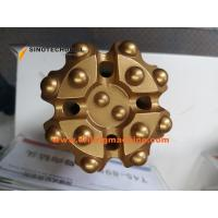 Buy cheap Rock Dth Drilling Machine Carbon Steel Drill Bits With 38 Button Angle° from wholesalers