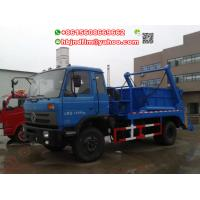 China JDF5120ZBLK  Dongfeng 10cubic Swing lift Garbage truck price to Mongolia on sale