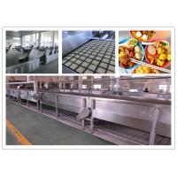 Quality CE ISO SGS Instant Noodle Making Machine , Automatic Noodle Machine Stainless Steel for sale