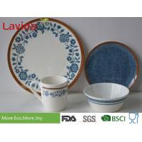 Quality Modern Color 100% Melamine Dinnerware Sets , Melamine Tableware Sets For Home for sale