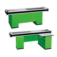 Quality Automatic Custom Checkout Counters Rust Proof With Crash Protection Measure for sale