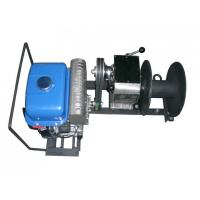 Quality Gas Powered Winch Cable Winch Puller 1 Ton Capacity Portable Type 15m / Min Fast Speed for sale