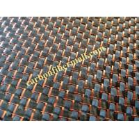 China Red carbon fiber cloth,fabric Excellent colored plain 3k carbon fiber fabric mixed woven gold metallic hybird carbon clo on sale