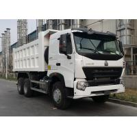 40 Ton HOWO A7 Heavy Dump Truck With Luxurious A7-W Cab Ten Wheels