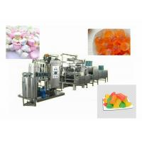 Quality Gummy / Hard / Soft Lollipop Depositing Machine Capacity 50-600kg/H for sale
