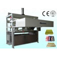 China 1800Pcs / H Moulded Pulp Egg Carton Machine Full Automatically on sale